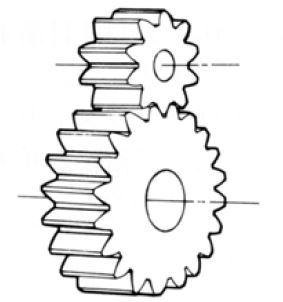 Spur Gear internal of Gear Motor