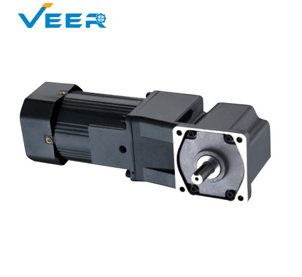 40W to 140W 5GU AC Right Angle Gear Reducer Motor, Solid Shaft Right Angle Geared Motor, Hollow Shaft Right Angle Geared Motor, Geared Motor Manufacturer, High-performance Gear Motor, VEER Geared Motor