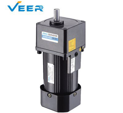 120W Gk Small AC Gear Reducer Motor, Geared Motor, Geared Motor Manufacturer, High-performance Gear Motor, VEER Geared Motor
