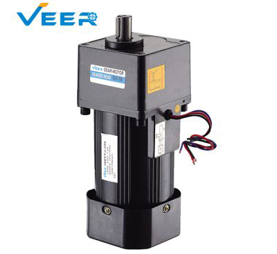 250W GK Small AC Gear Reducer Motor, Geared Motor, Geared Motor Manufacturer, High-performance Gear Motor, VEER Geared Motor