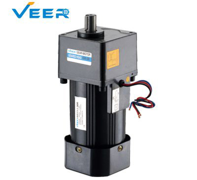300W GK Small AC Gear Reducer Motor, Geared Motor, Geared Motor Manufacturer, High-performance Gear Motor, VEER Geared Motor