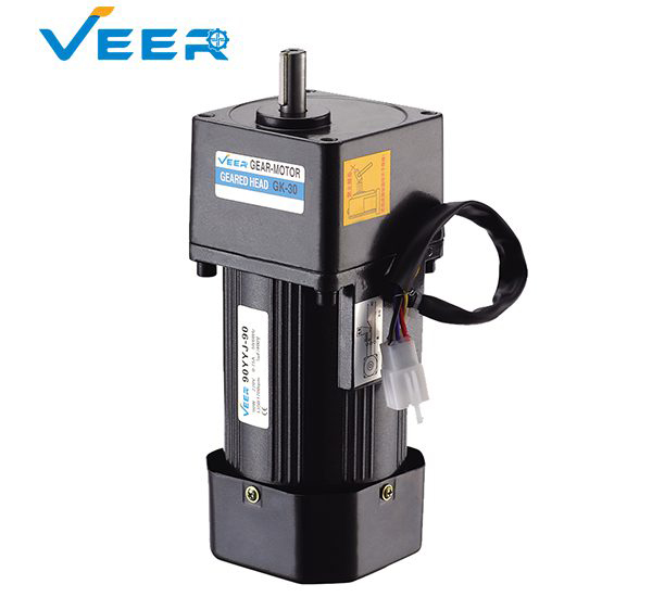 90W GK Small AC Gear Reducer Motor, Geared Motor, Geared Motor Manufacturer, High-performance Gear Motor, VEER Geared Motor