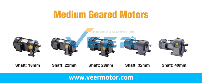 Veer motor offers horizontal, vertical high-ratio (brake) gear reducer motors, industrial single phase, three phase asynchronous motor, synchronous motors for power transmission applications.