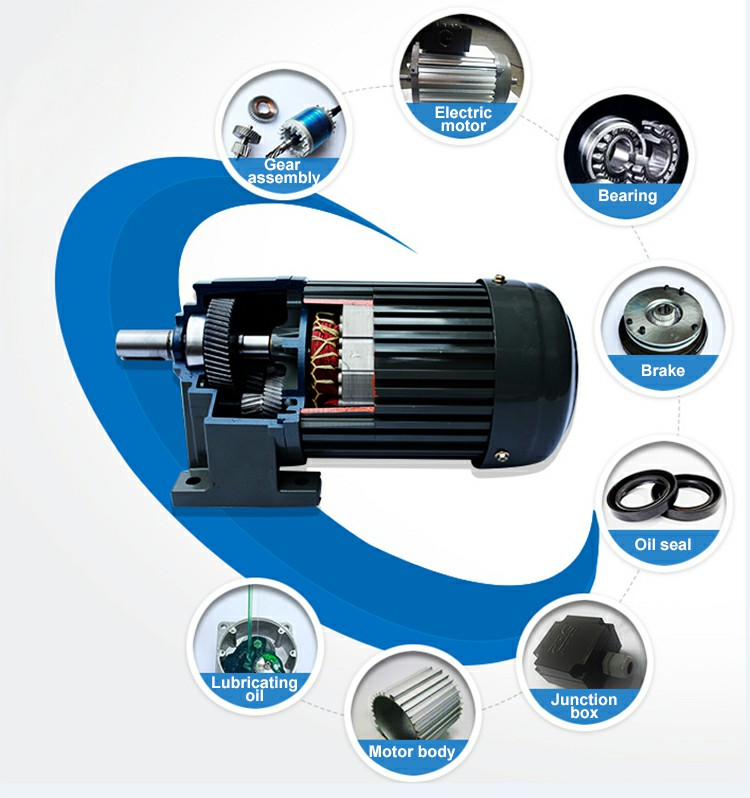 Why VEER motor can ensure the quality of gear reduction motor for customers?